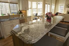 classic kitchen design with kitchen island granite countertop