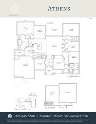custom home floor plans houston