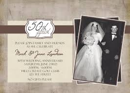 50th wedding invitations invitations for 50th wedding anniversary 50th wedding