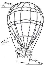 air balloons coloring pages alltoys for