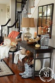 fall home tour at stonegable stonegable