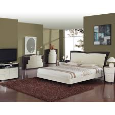 Wenge Bedroom Furniture Bellissi Furniture New York Beige Wenge Bedroom Set