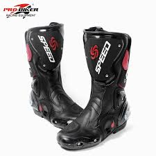 red motorcycle shoes compare prices on racing bike boots online shopping buy low price