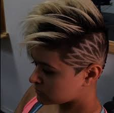 short haircuts designs 10 best floral undercuts images on pinterest hair cut undercut