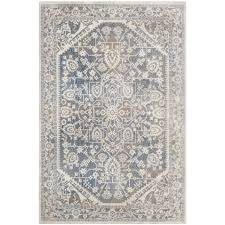 Safavieh Light Blue Rug Blue And Gray Area Rugs Roselawnlutheran