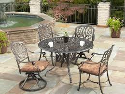 Black Patio Dining Set - patio 62 patio dining black patio dining table t0rl black