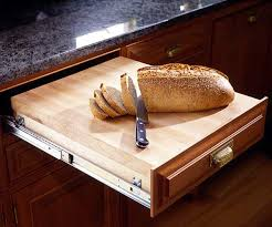 Countertop Cutting Board Creative Kitchen Storage Ideas Upgrade Your Drawers And Shelves