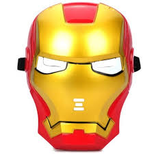 as the picture cosplay iron man mask with blue lite up eyes