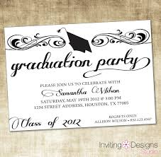 college graduation invitation templates sle invitation wording for graduation party unique sle