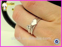 stones finger rings images Silver fashion thin finger ring without stone laminated ring jpg