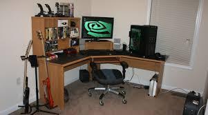 desk gaming desktop desk eye catching lenovo gaming desktop