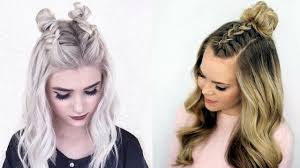 trendy diy hairstyles for fall 2017 u0026 winter 2018 youtube