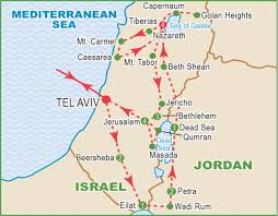 Isreal Map Jacobs Well Israel Map Image Gallery Hcpr