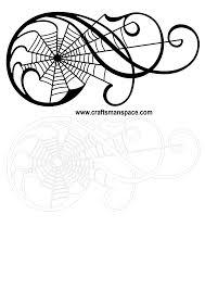spider web svg ornamental scrolls with spider net