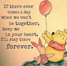 Image result for keep me in your heart forever pooh quote