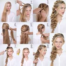 easy hairstyles for waitress s i want to do easy party hairstyles for long hair step by step how