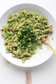The Mediterranean Vegan Kitchen - pea pesto pasta salad recipe pesto pasta salad pesto pasta