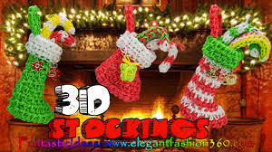 rainbow loom thanksgiving charms rainbow loom christmas stocking 3d charms how to loom bands