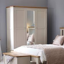 Painted Bedroom Furniture by Hutch Portsmouth Stone Grey Painted Bedroom Range