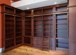 Tall Bookcase With Ladder by Library Shelf With Ladder Christmas Ideas Home Decorationing Ideas