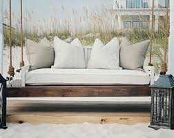 Daybed Porch Swing Daybed Swing Etsy