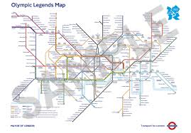 Metro Map Kuala Lumpur by Tube Map Stops Named After Olympic Icons To Celebrate London 2012