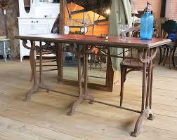 mobilier de bistrot table bistrot opaline rouge meubles occasion