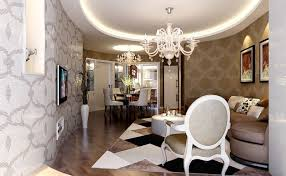 luxury living room with long narrow circle decor idea decorating
