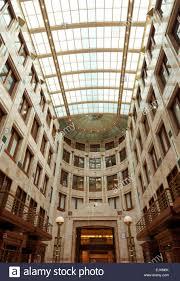 Art Deco Style The Art Deco Style Atrium Of 75 State Street Boston Stock Photo