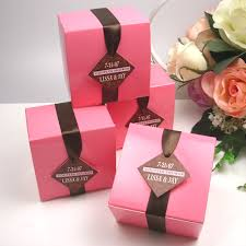 favor boxes pink glossy favor box colored wedding favor boxes favor boxes