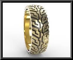 tire wedding ring tire tread wedding ring vidar jewelry unique custom engagement