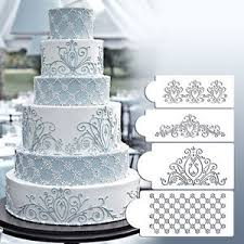cake lace princess lace cake stencil set wedding cake cookie border stencils