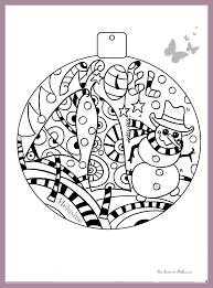 Petit coloriage de Noël pour le plaisir  la classe de Mélusine