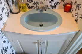 how to paint existing bathroom cabinets how to paint a sink