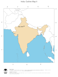New Delhi India Map by Map India Ginkgomaps Continent Asia Region India