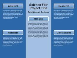 science project poster template free science fair clinicalposters