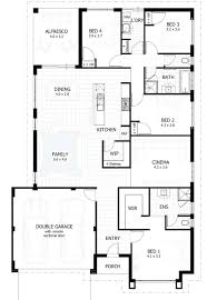 House Plans With Inlaw Apartment Island Hampton Single Storey Floor Plan Wasingle Story Plans With