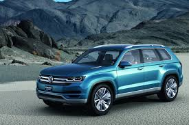 volkswagen suv 2015 vw confirms all new mid size suv for production in the usa