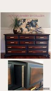 refinished buffet sideboard by not too shabby by colleen