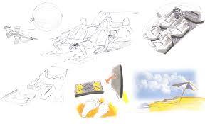 leaper designs portfolio beach buggy interior concept