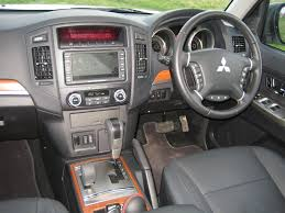 mitsubishi shogun interior mitsubishi u0027s new shogun is perfect tool for most jobs wheel