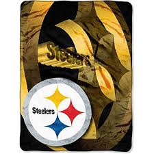 themed throw blanket 60x80 oversize nfl steelers theme throw blanket multicolored