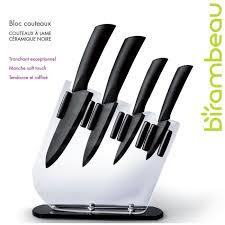 couteau cuisine ceramique bloc 4 couteaux lame céramique achat vente couteau de