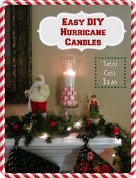 crafty in crosby easy diy hurricane christmas candles