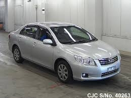 2011 toyota corolla axio silver for sale stock no 40263
