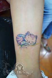gato acuarela watercolor cat tattoo u2026 pinteres u2026