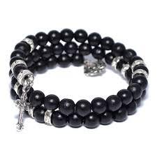 mens black beaded bracelet images Buy wooden bead bracelets for men select men 39 s jewelry jpeg