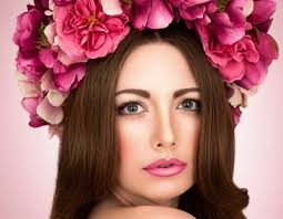 floral headpiece accessory trend the floral fashion industry s