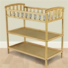 Wood Changing Table Finish Wood Baby Furniture Changing Table With Safety Rail