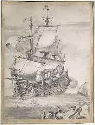 galeón español pirata en el caribe làmines el mar the sea